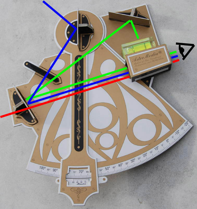 Artificial Horizon Sextant Artificial Horizon Upper