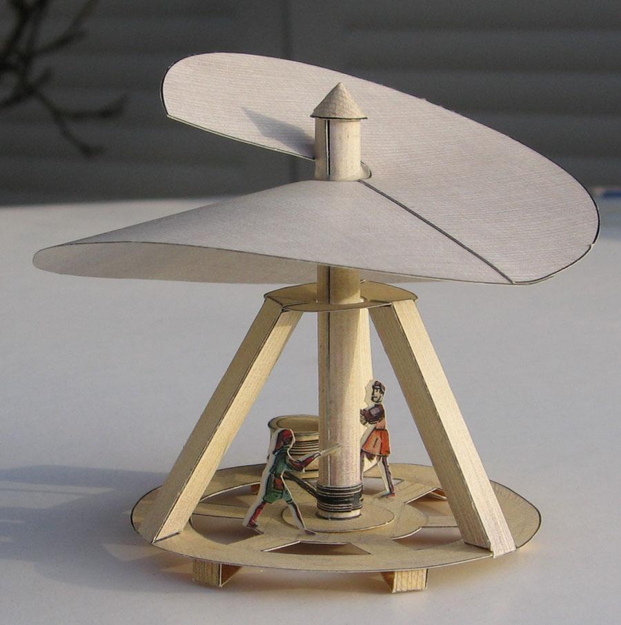 Как сделать макет геликоптера