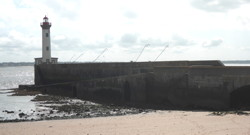 The Old Mole at low tide