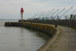 The western jetty of the avant port