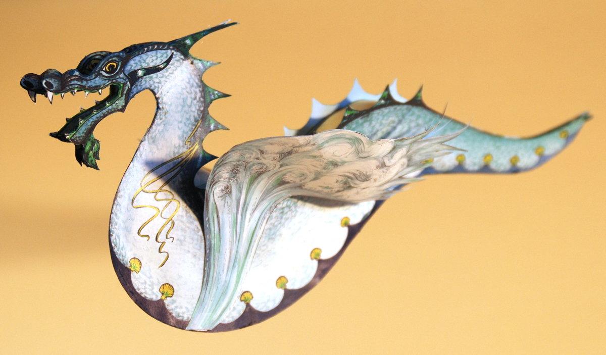 Lutz\'s Web Site: Paper Dragons